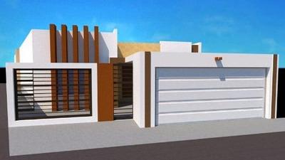 Casa Sola En Venta En Cerrada Del Valle, Juárez, Chihuahua