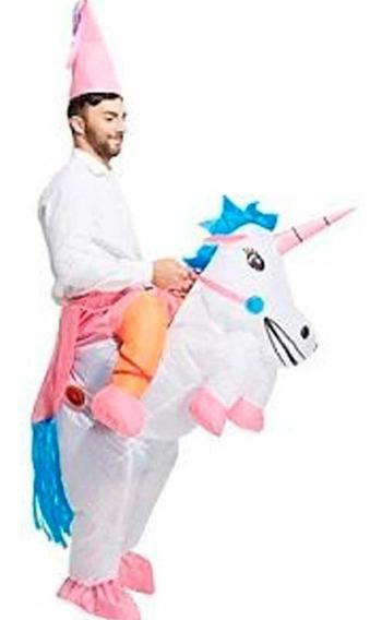 Disfraz Inflable Unicornio Pequeño Pony Egresados Fiesta Upd