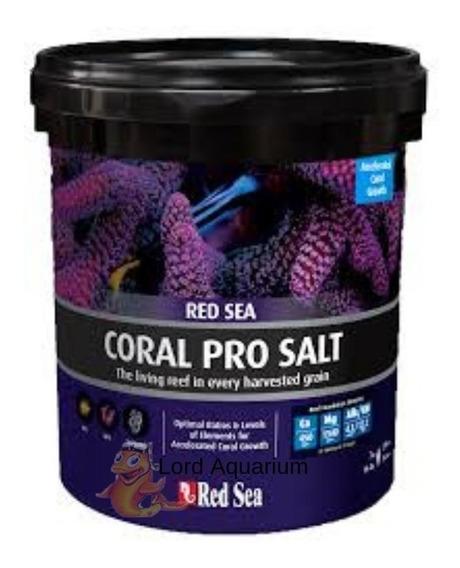 Sal Red Sea Coral Pro Balde 22 Kg Faz 660l Agua Salgada