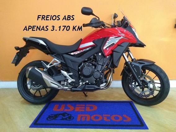 Honda Cb 500 X Abs 2019 Vermelha