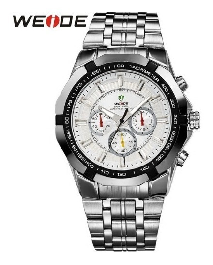 Relógio De Pulso Weide Original - Luxo - Frete Grátis
