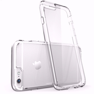 Luxury Silicone Case Cover Iphone 6 + Protective Film Glass