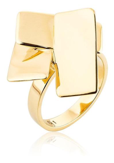 Anel Bok Ouro Amarelo Tamanho 14