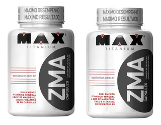 2x Zma 90caps. - Max Titanium