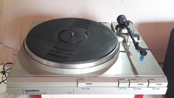 Toca-discos Gradiente T-515 Com Agulha Leson (não Envio)