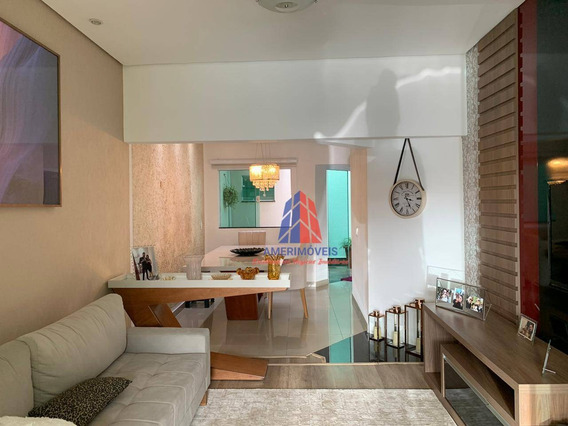 Casa Com 2 Dormitórios À Venda, 130 M² Por R$ 330.000,00 - Jardim Boer I - Americana/sp - Ca1213