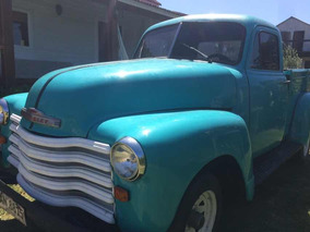 Chevrolet Custom Pick Up 1952 1952