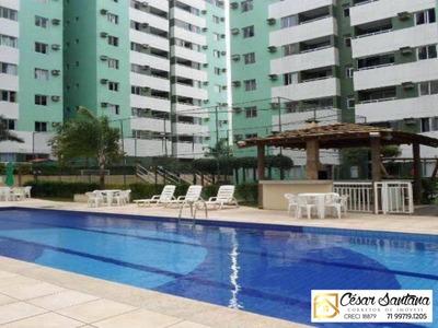 Apartamento 2/4 Cittá Lauro De Freitas Recreio De Ipitanga - Ap00585 - 33662754