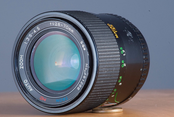 Lente Zoom M42 Tron 28-70mm