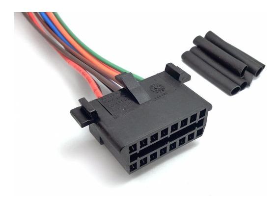 Conector Plug Diagnóstico Obd 2 Gol Polo Kombi Golf Fiat