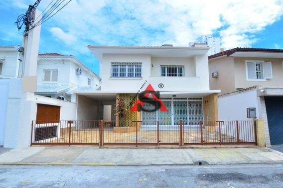 Casa À Venda E Para Locação, Vila Nova Conceição. - So4941