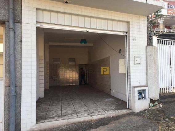 Salão Para Alugar, 63 M² Por R$ 900/mês - Vila Cordenonsi - Americana/sp - Sl0012