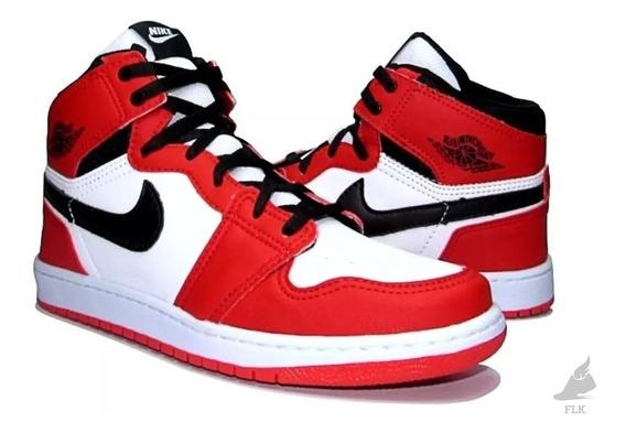Tênis Air Jordan 1 Botinha Frete Grátis
