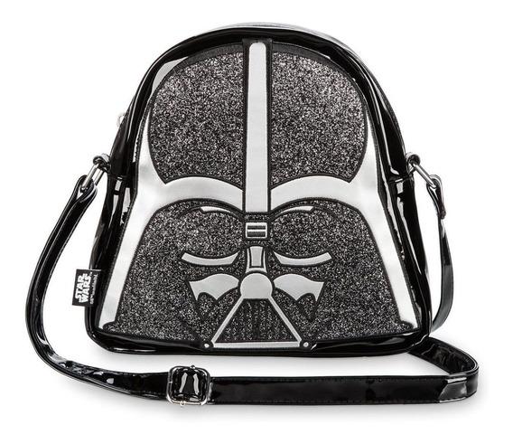 Disney Store Bolsa De Darth Vader Crossbody Nueva Importada