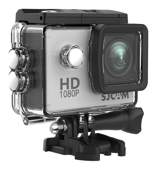 Sj4000 + Microfone Externo Para Capacete By Pato Motos Jr
