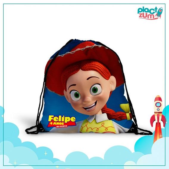 30 Mochilas Saco Lembrancinha Festa Toy Story 2