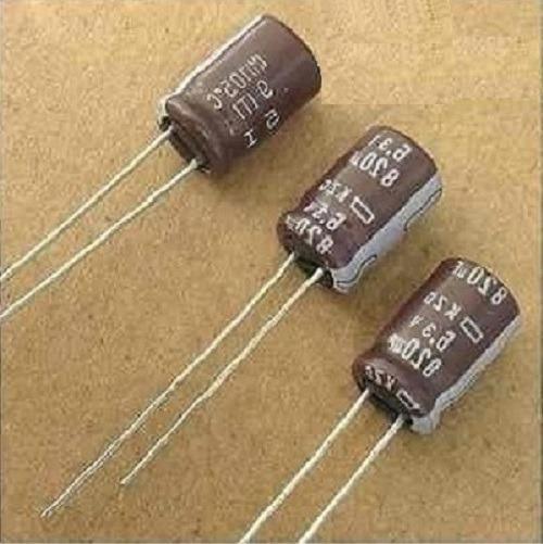 Capacitor Eletrolítico 820uf X 6,3v 10 Peças Pronta Entrega