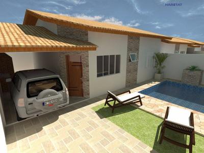 Casa A Venda No Bairro Cibratel 2 Em Itanhaém - Sp. - 1224-7414