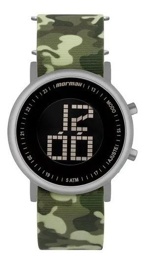 Relógio Mormaii Unissex Vibe Prata Mobjt003ad/2v