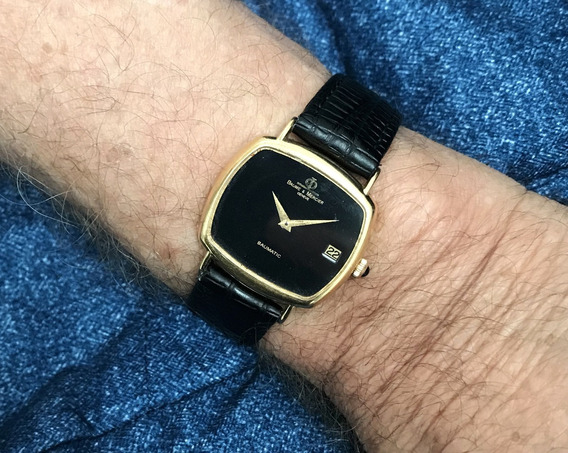 Relógio Ouro 18k Maciço Baume Masculino, 13 Anos No M. Livre
