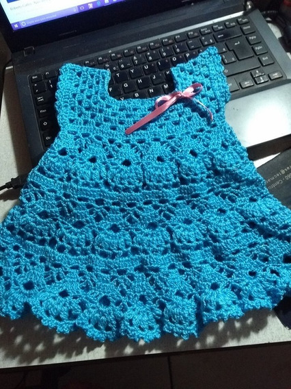 Vestido De Croche Para Bebe