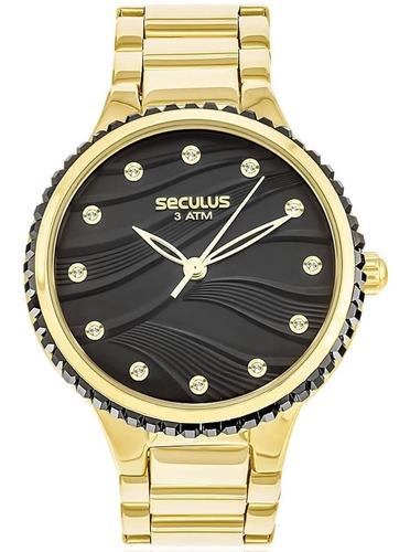 Relógio Feminino Seculus 13018lpsvds3