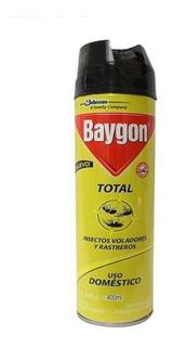 Insecticida Baygon Total Aerosol 400 Ml Scj-697696 Caja/12p