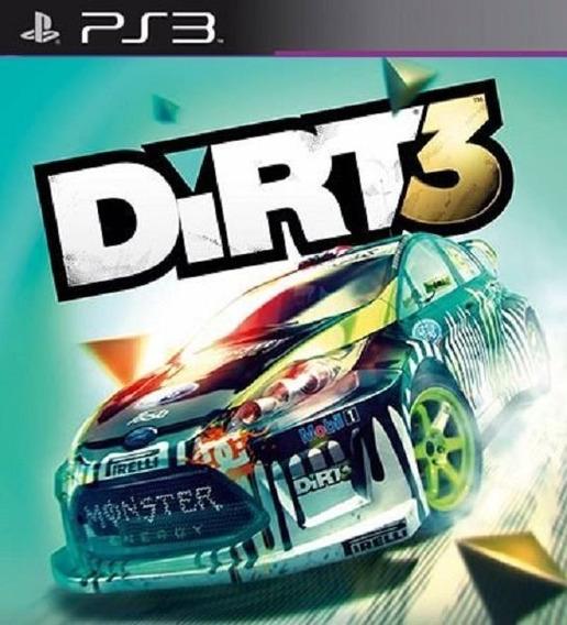 Dirt 3 - Ps3 - Envio Hoje