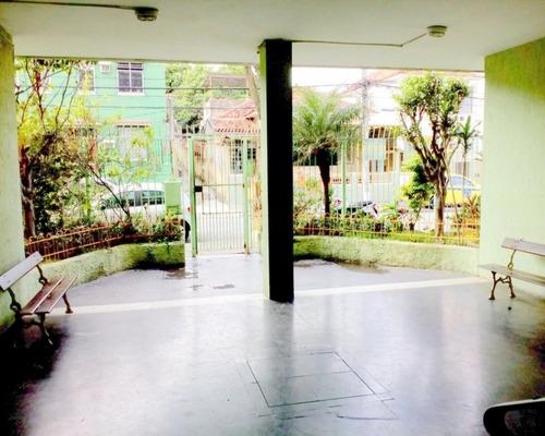 Apartamento  Grande Com 2 Quartos Área À Venda, 70 M²  -  Quintino Bocaiuva - Aea2377