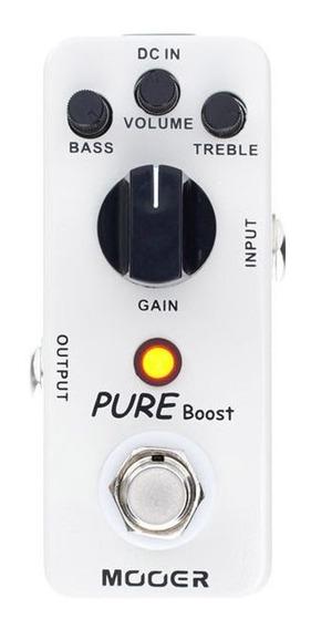 Pedal Mooer Pure Boost - Timbre Do Xotic Rc Boost Envio 24h