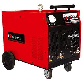 Máquina De Solda Bambina Monofásica 300a Ac/dc Fator 100 (c