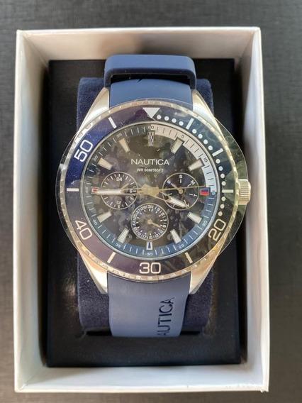 Relógio Nautica Pulseira Azul (original)