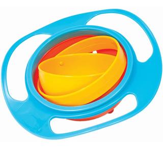 Prato Giro Bowl Blister Azul De Bebe Buba Baby Tigela Full
