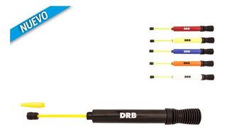 Inflador Drb Doble Accion Con Pico Extendible Dribbling