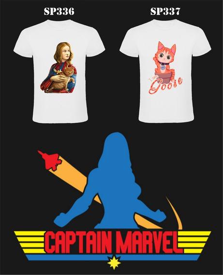 Remeras Capitana Marvel , Captain Marvel