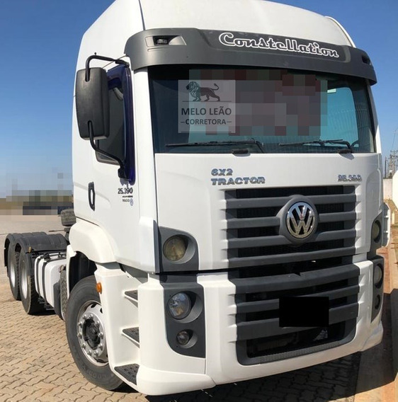 Vw 25-390 Constellation - 13/14 - Cavalo Truck, Cabine Leito