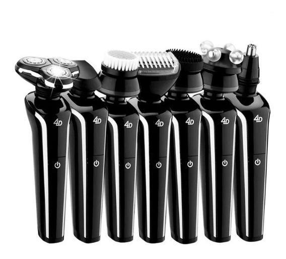 Barbeador Eletrico 7 Em 1 Depilador, Massageador, Escova