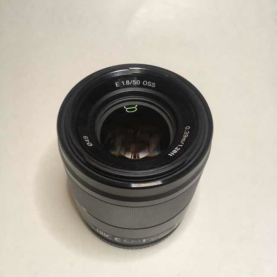 Lente Sony 50mm F 1.8 Oss