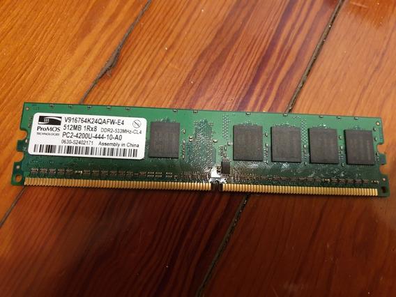 Memoria Ram Promos 512mb 1rx8 Ddr2-533mhz-cl4 Pc2-4200