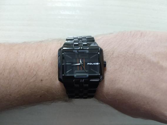 Relógio Police Preto