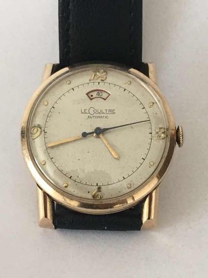 Reloj Jaeger-lecoultre Con Reserva De Marcha De Los 50s