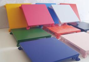 Bandeja Mdf Decoracao 20 X 20 Festa Aniversario Mesa Color