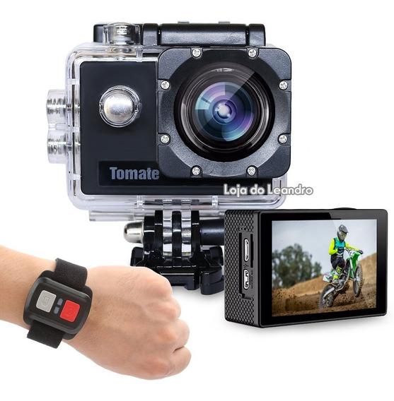 Filmadora Action Cam 4k Full Hd 1080p C/ Garantia
