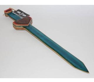 Skateboard Reciclado Espada De Madera, Skate, Patinetas
