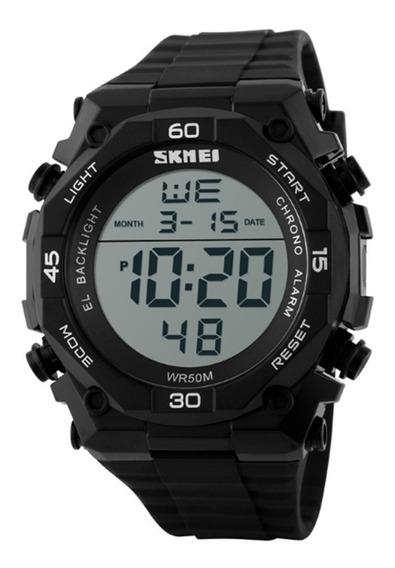 Relógio Digital Masculino Skmei Digital 1130 - Preto