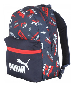 Mochila Puma Phase Infantil Small Backpack - Azul Escuro