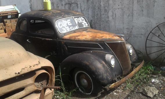 Coupe Ford V8 Año 1937 Original