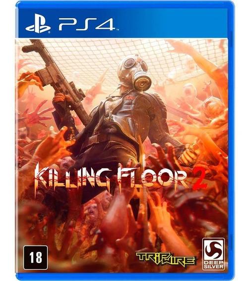 Jogo - Killing Floor 2 Jogo Ps4 Mídia Fisica Novo Lacrado