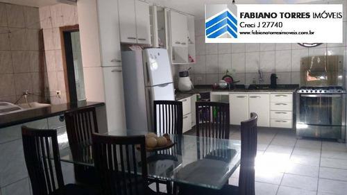 Casa Para Venda Em Santo André, Jardim Santo Andre, 3 Dormitórios, 1 Suíte, 1 Banheiro, 2 Vagas - 1448_2-611643