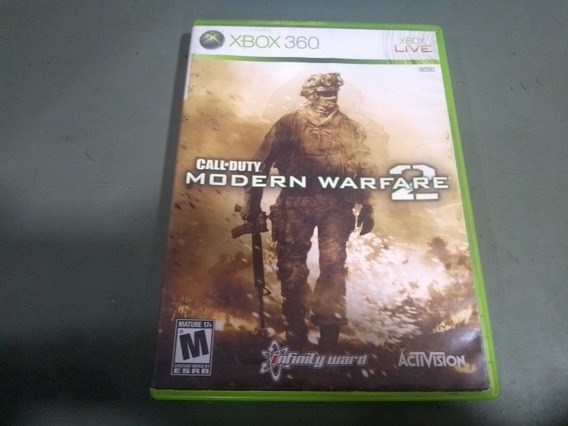 Jogo Call Of Duty Modern Warfare 2 Para Xbox360 Seminovo